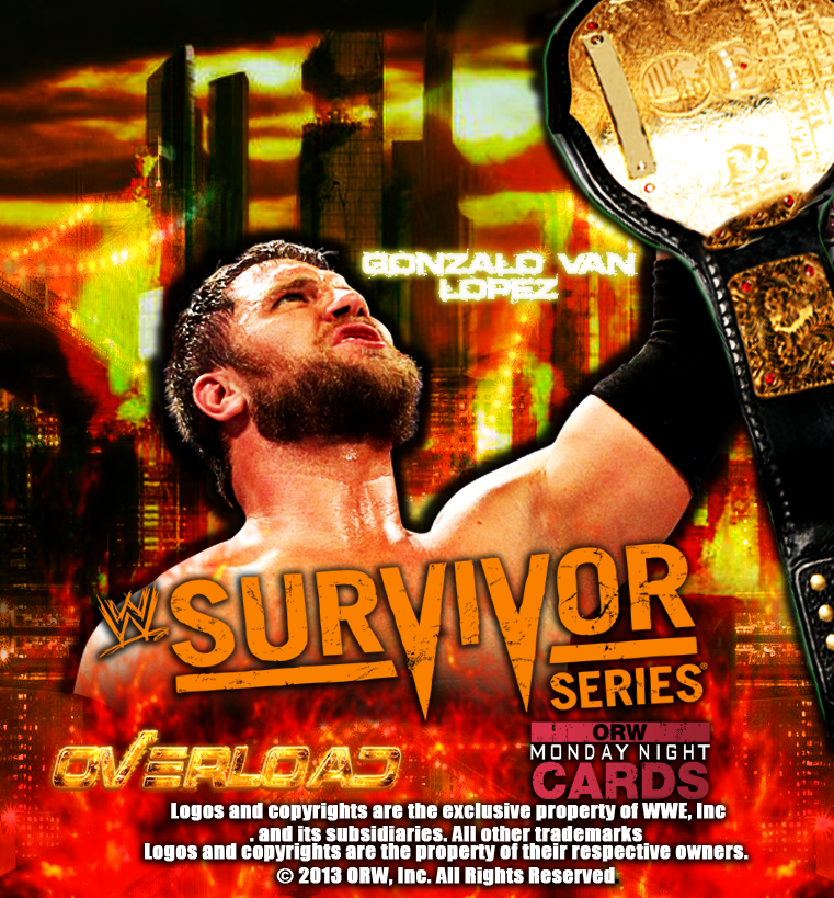 Wwe Survivor Series 2013 Poster ORW Survivor Se...