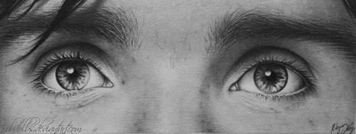 Eyes of Cillian Murphy by robdolbs
