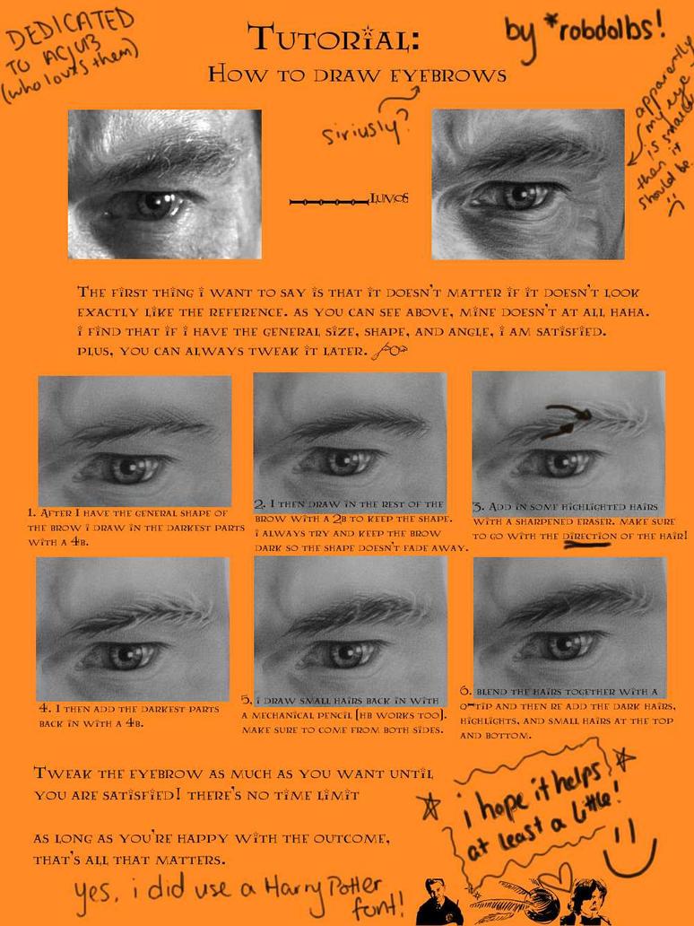 Tutorial: Eyebrows by robdolbs