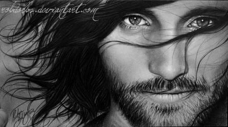 Viggo Mortensen - Aragorn by robdolbs