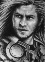 Avengers - Thor - ACEO/ATC by robdolbs