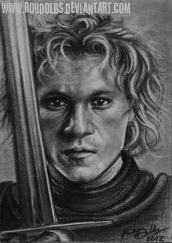 A Knight's Tale - Heath Ledger ATC