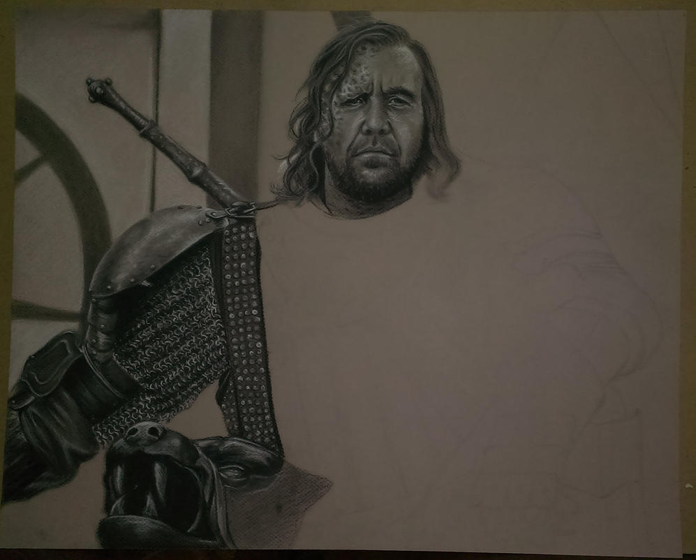 The Hound WIP I by robdolbs