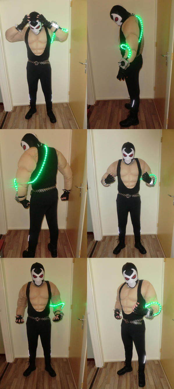 how to make a bane costume