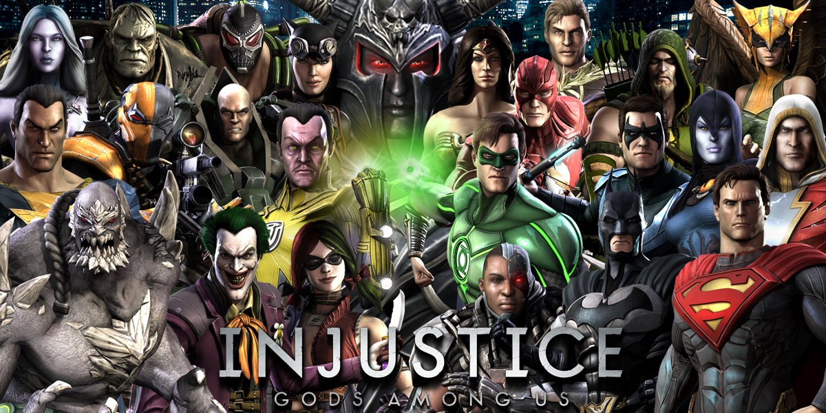 Injustice Gods Among Us Wallpaper By Zaurask On Deviantart