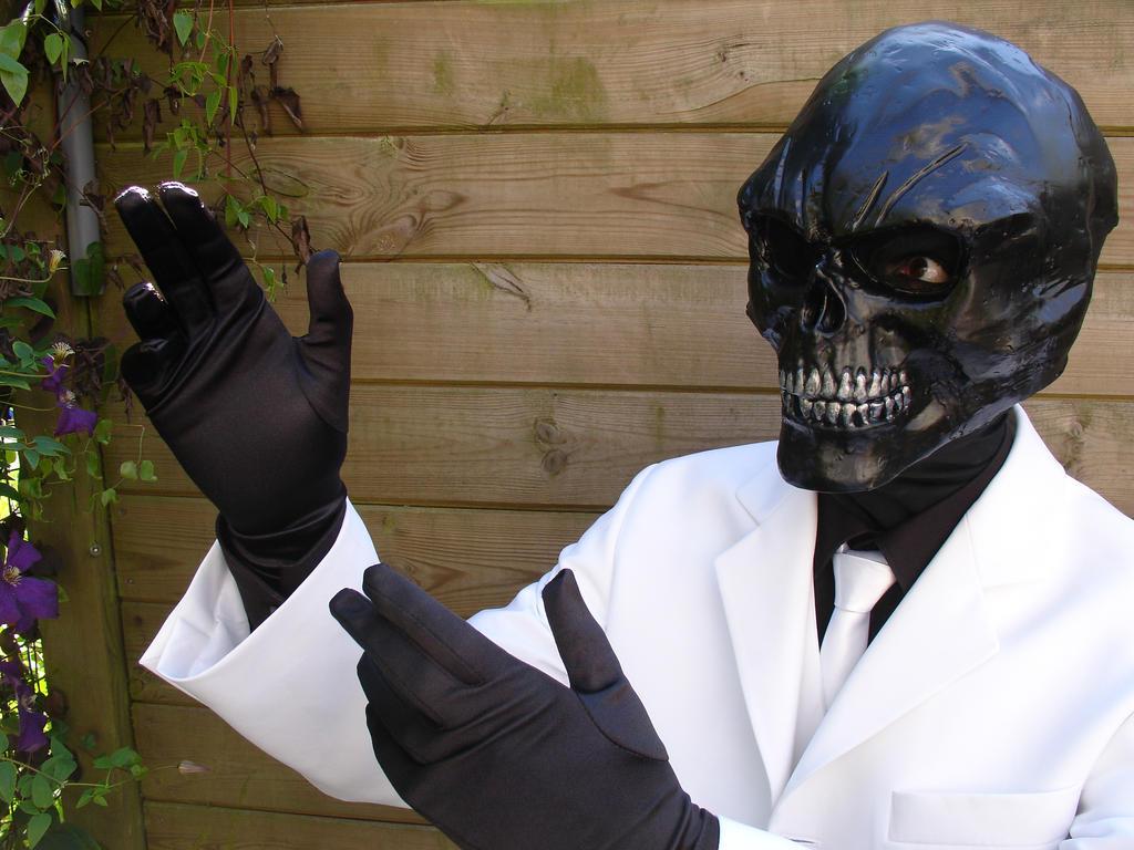 Black Mask Batman Arkham Origins Costume | Gallery