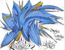 blue. by ENKI-ONE