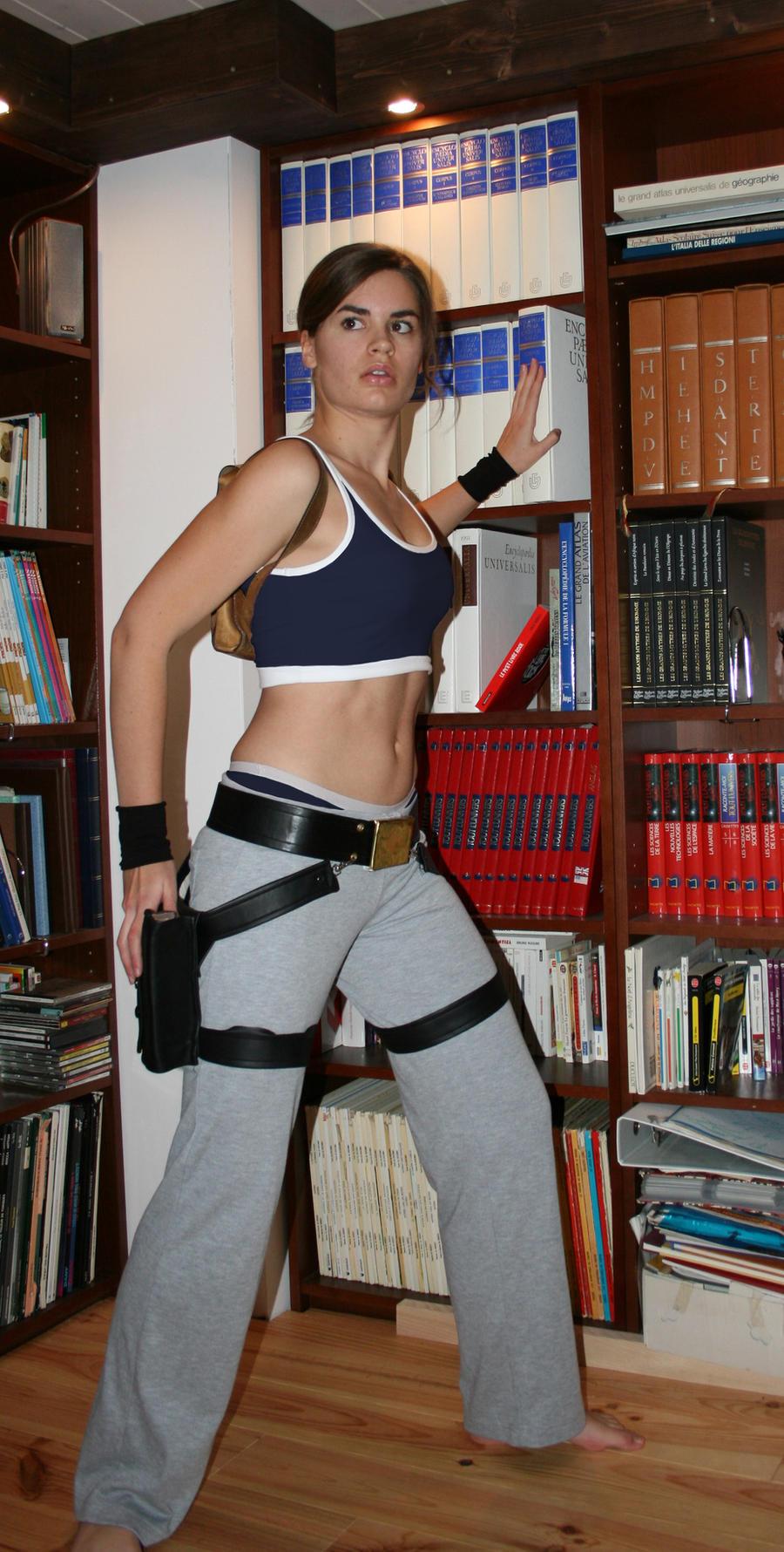 Lara Croft_mix training by Tyalis-photo