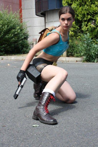 Lara Croft_Comics outfit by Tyalis-photo