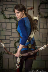 Rise of the tomb raider - Blue Henley