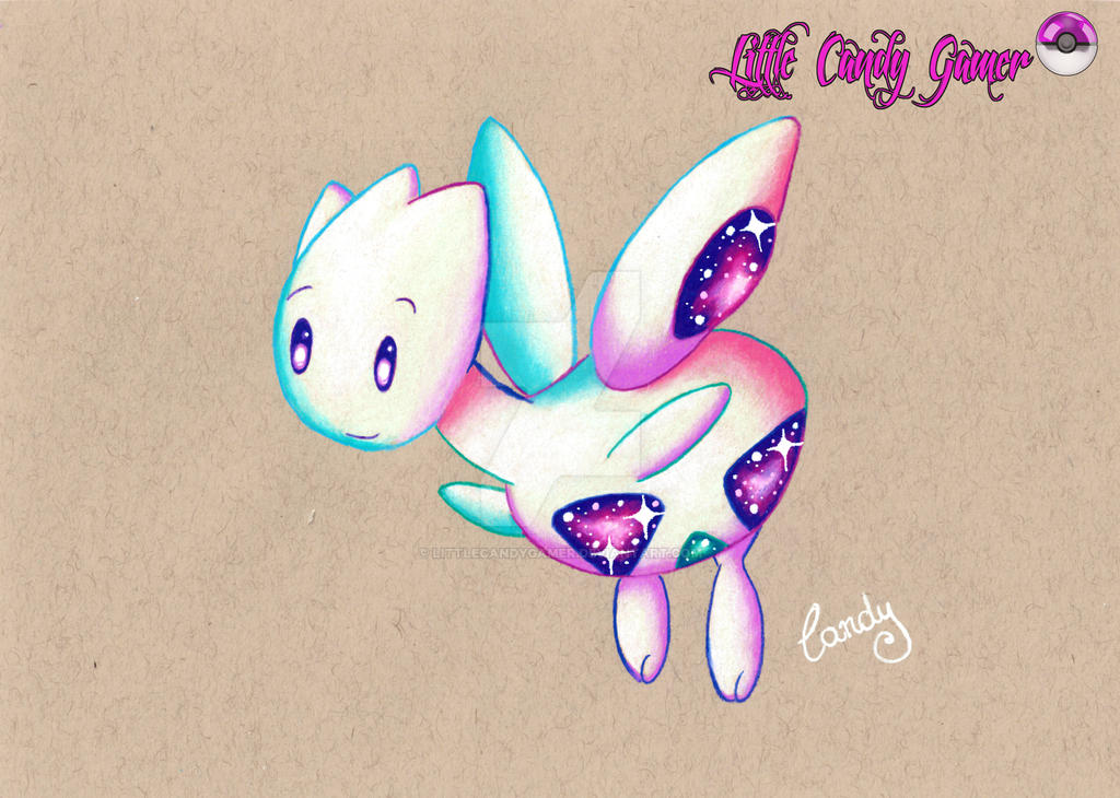 Cosmic Togetic Prismacolor Drawing By Littlecandygamer On Deviantart
