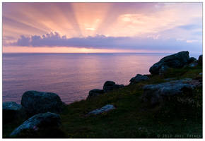 Sunset at Lands End 73-210 by Prince-Photography