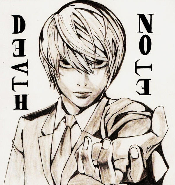 Kira.Light.Death Note. By ArtzMangaz On DeviantArt