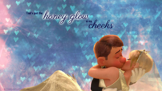 Honey Glow Wallpaper