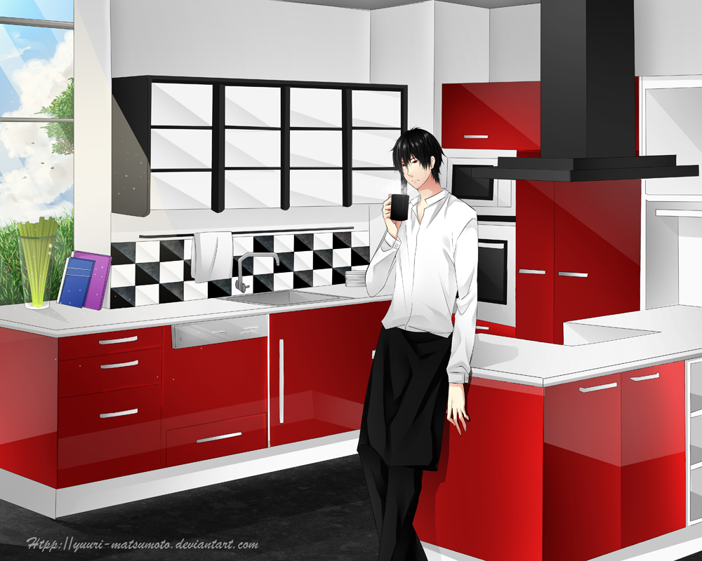 Caffe Latte Kitchen Decor