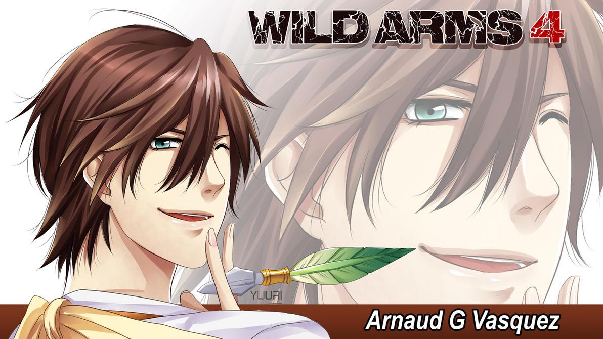 FanArt: WILD ARMS 4 - Arnaud G Vasquez by yuuri-matsumoto