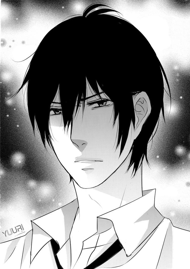 OC: Shin Fillesky - Angry by yuuri-matsumoto