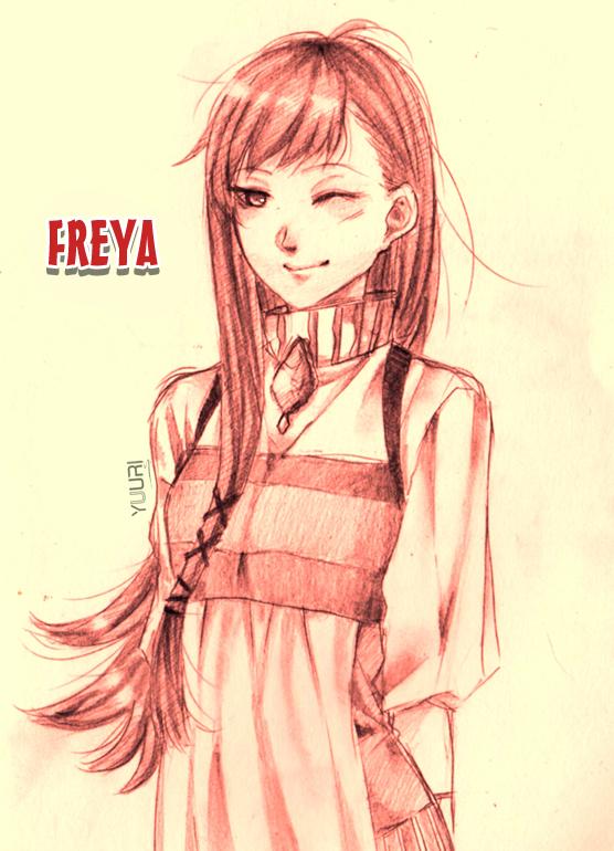 HM: Grand Bazaar - Frey by yuuri-matsumoto