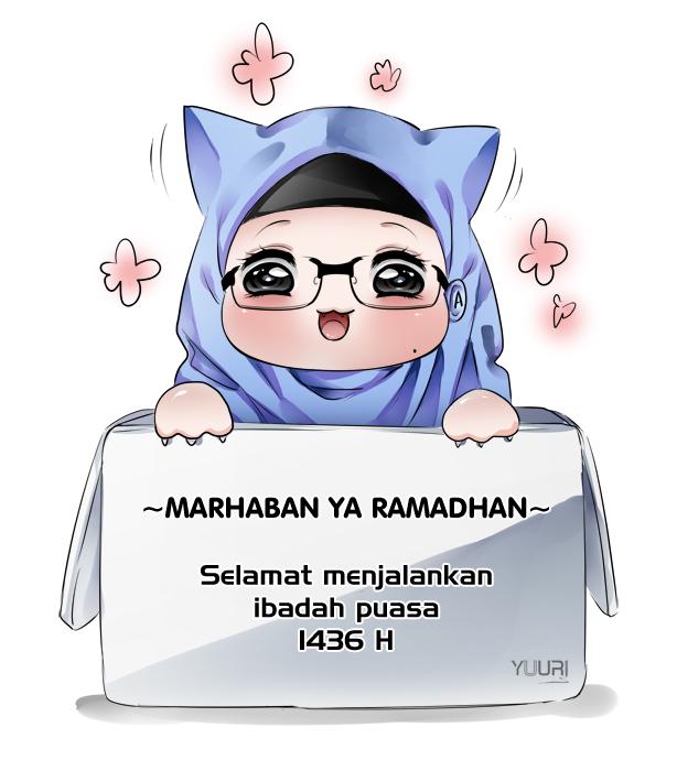 Marhaban Ya Ramadhan 1436 H by yuuri-matsumoto