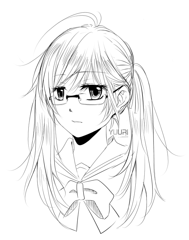 Random Sketch by yuuri-matsumoto