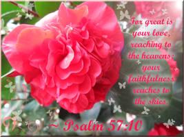 Psalm 57:10 -WALLPAPER- by plmethvin