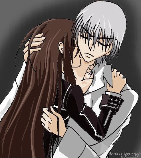 Vampire Knight Zero And Yuki Bite   www.imgkid.com - The ...