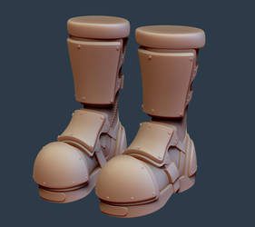 Working Boots Up - Boots Only