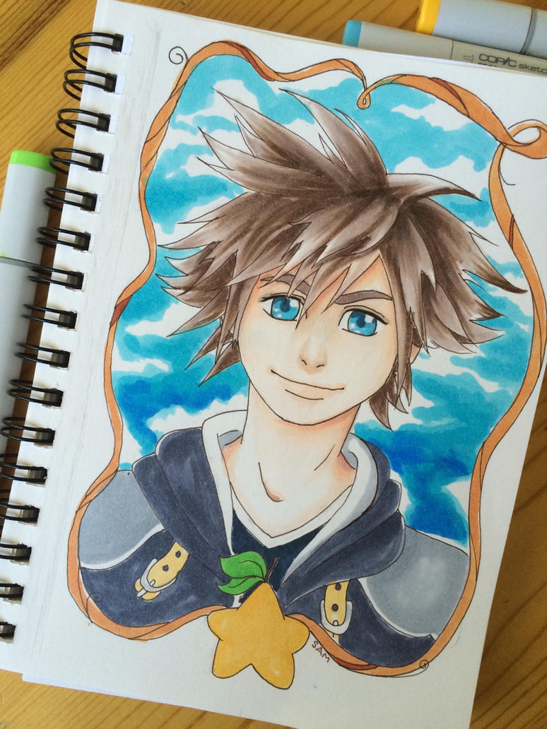 Kingdom Hearts: Sora by XXbhunivelzeXX