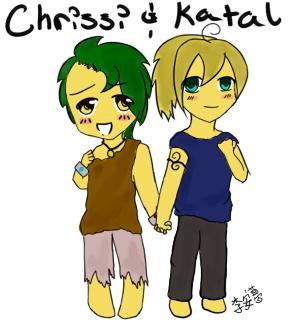 Chrissi and Katal by nashadi