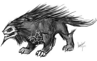 Hellhound by demajen