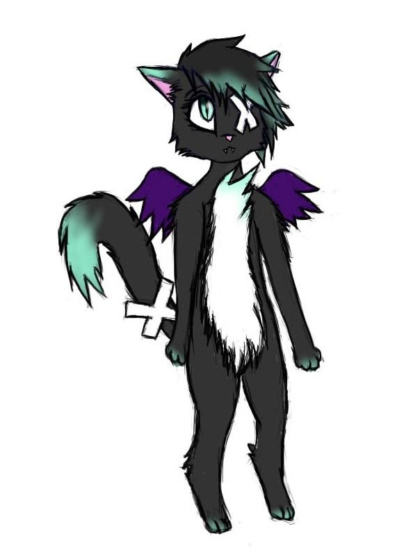 Kitty Bat by shotabunnyfairy