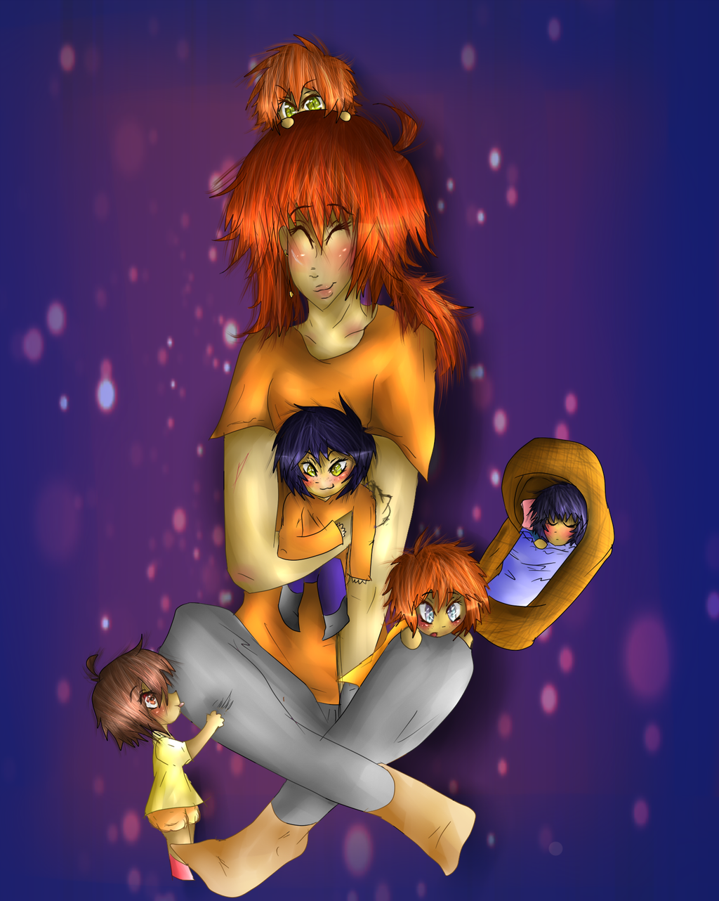.: A Lady and her Babs :. by shotabunnyfairy