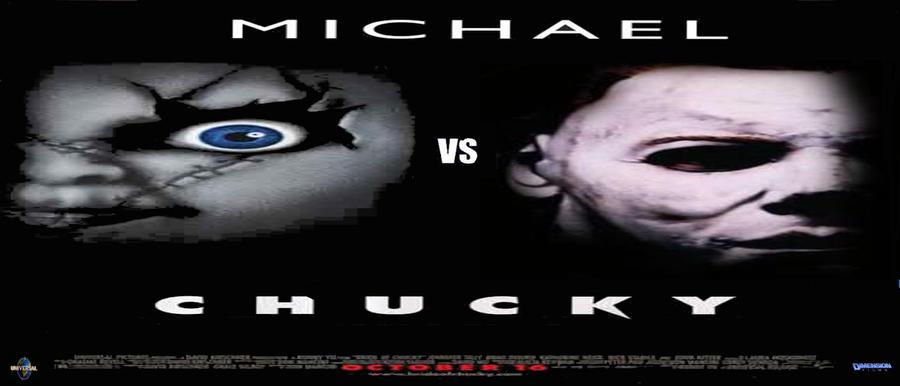 Freddy Vs Jason Vs Chucky Vs Michael Myers Vs Pinhead Michael vs. Chucky pos...