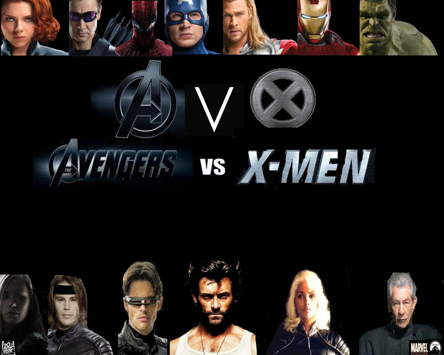 X Men poster by