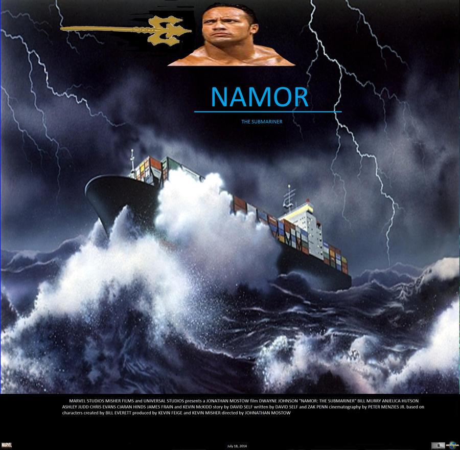 Namor the Submariner poster by SteveIrwinFan96Namor The Submariner Movie