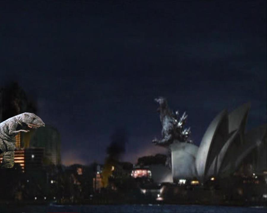 Godzilla Final Wars: Godzilla vs. Gorosaurus by ...
