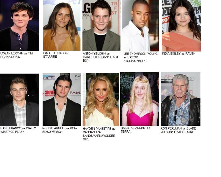 Teen Titans Cast 70