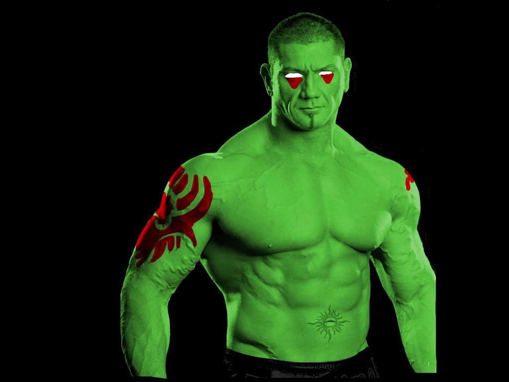 Dave Batista Drax the Destroyer by SteveIrwinFan96