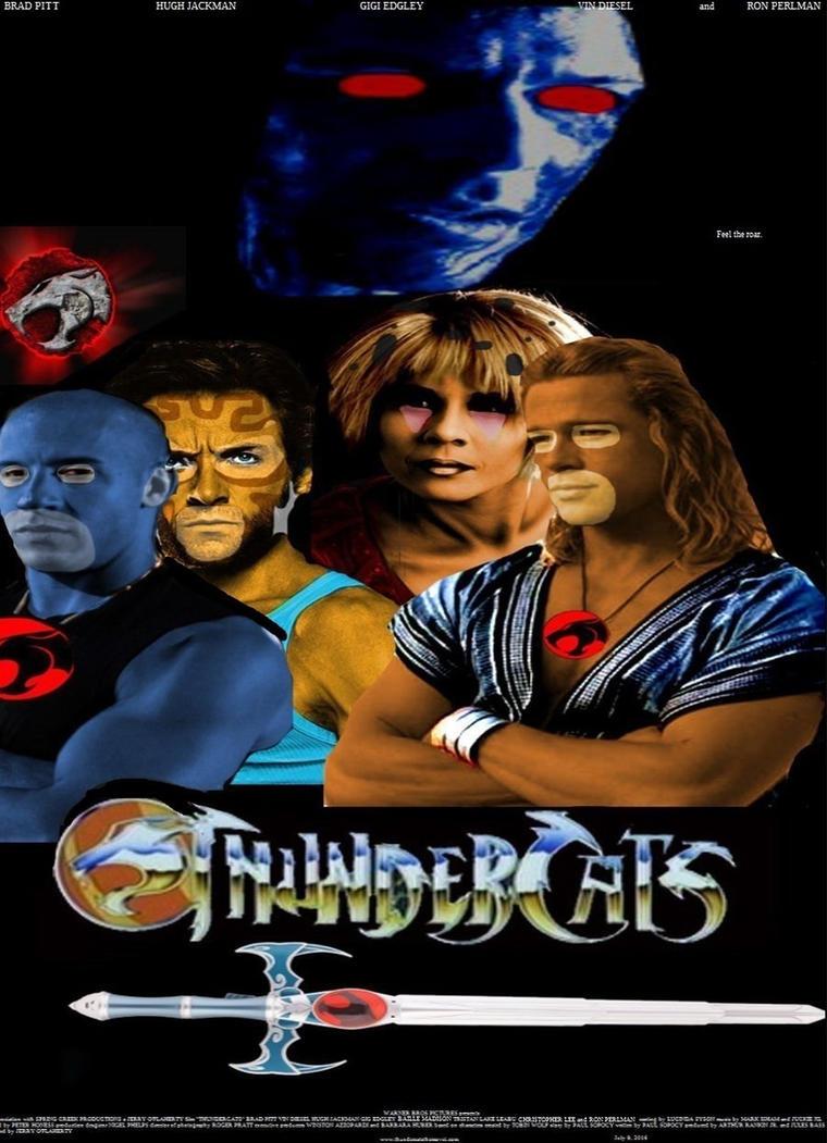 thundercats movie poster by steveirwinfan96 on deviantart