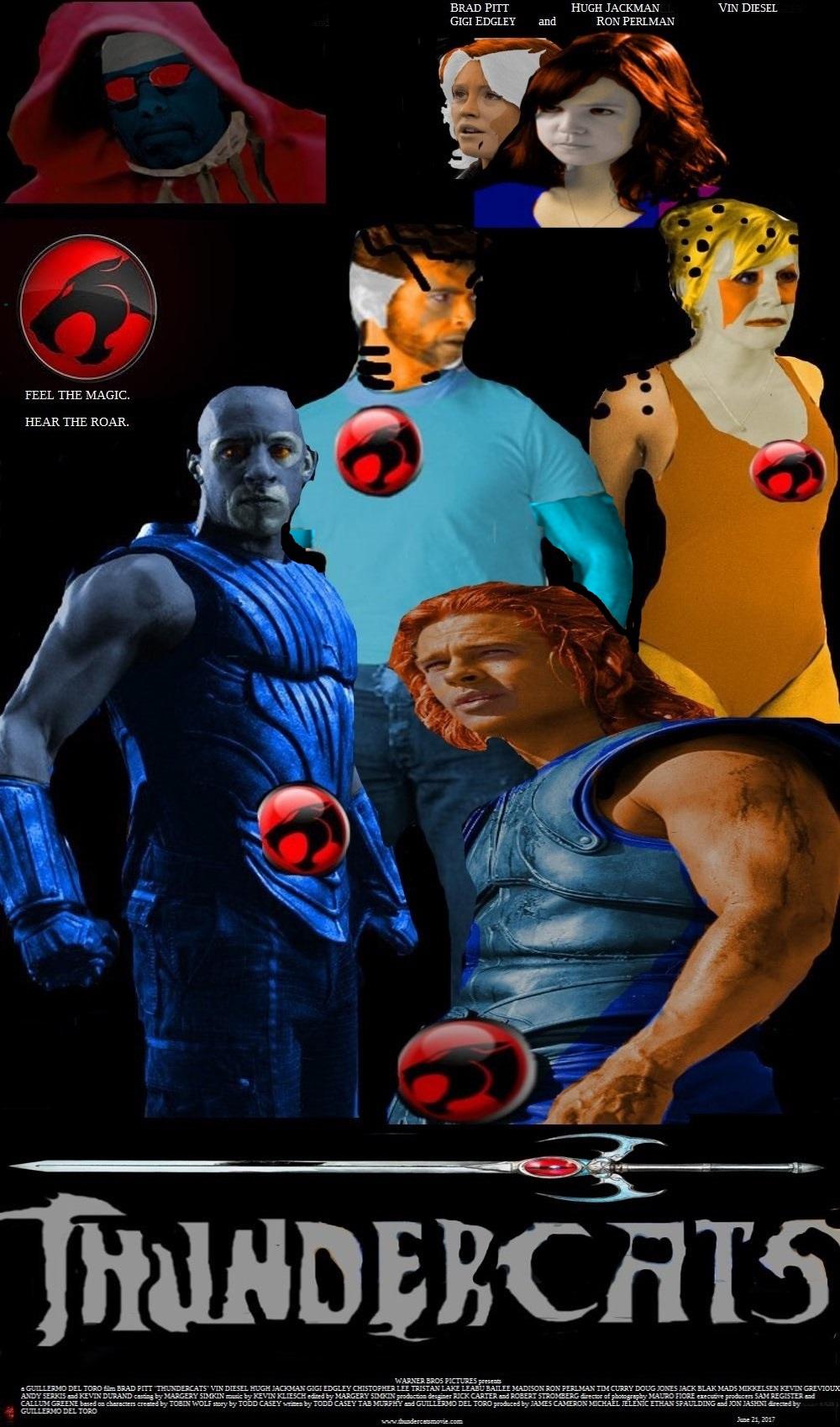 thundercats film poster by steveirwinfan96 on deviantart