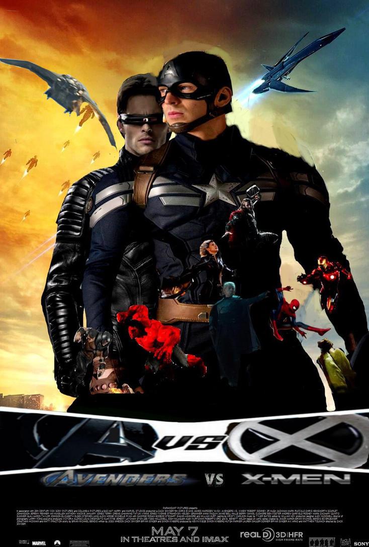 Avengers vs X Men poster by SteveIrwinFan96 on DeviantArt