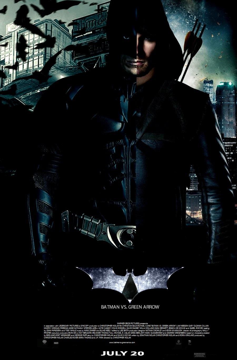 Green Arrow Poster By SteveIrwinFan96 Batman Vs