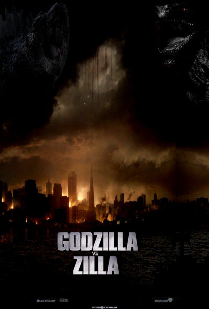 Zilla Vs Godzilla Godzilla vs. Zilla pos...