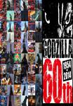 Godzilla 60th Anniversary