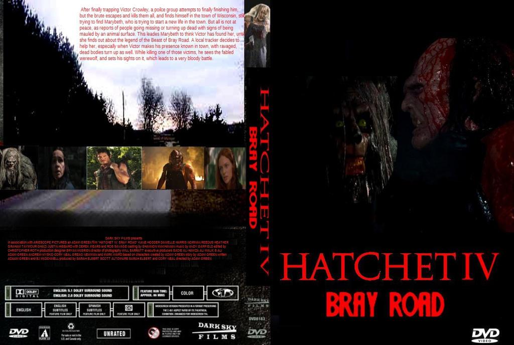 Hatchet 4 DVD cover by SteveIrwinFan96 on DeviantArt Leatherface Vs Jason Poster