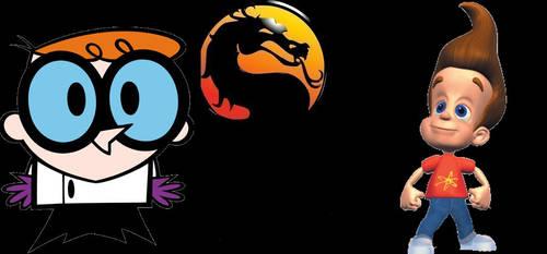 Mortal Kombat Dexter vs. Jimmy by SteveIrwinFan96