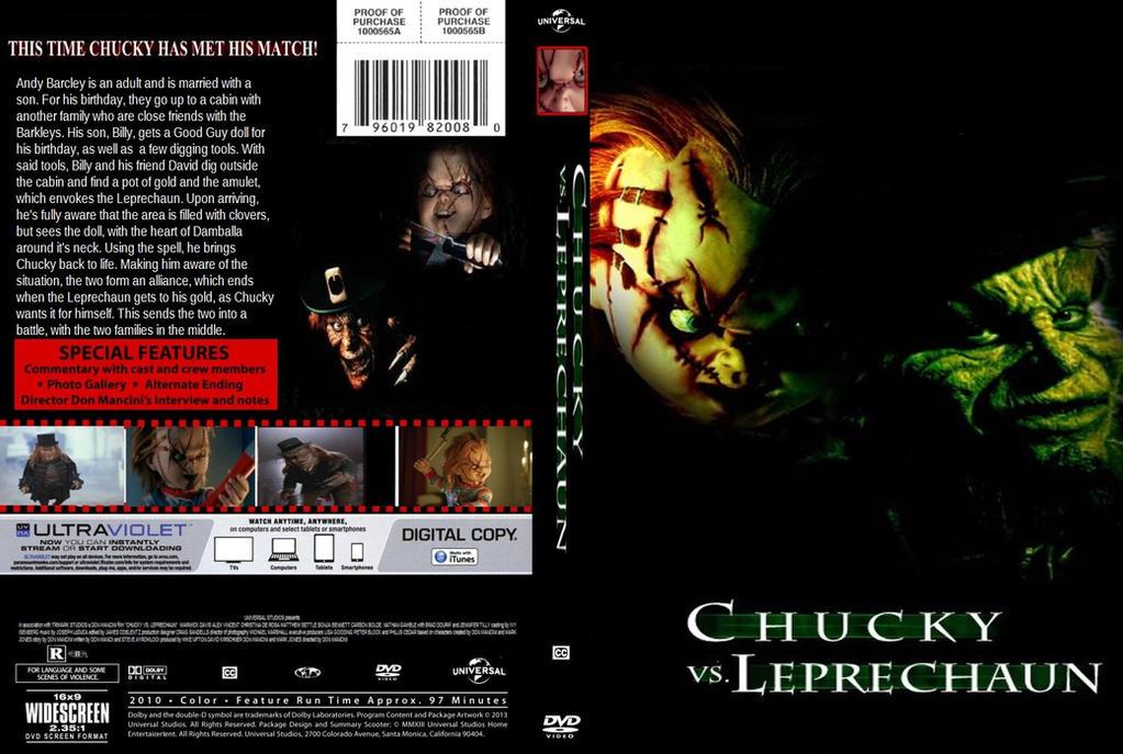 Chucky Vs Leprechaun DVD Cover By SteveIrwinFan96