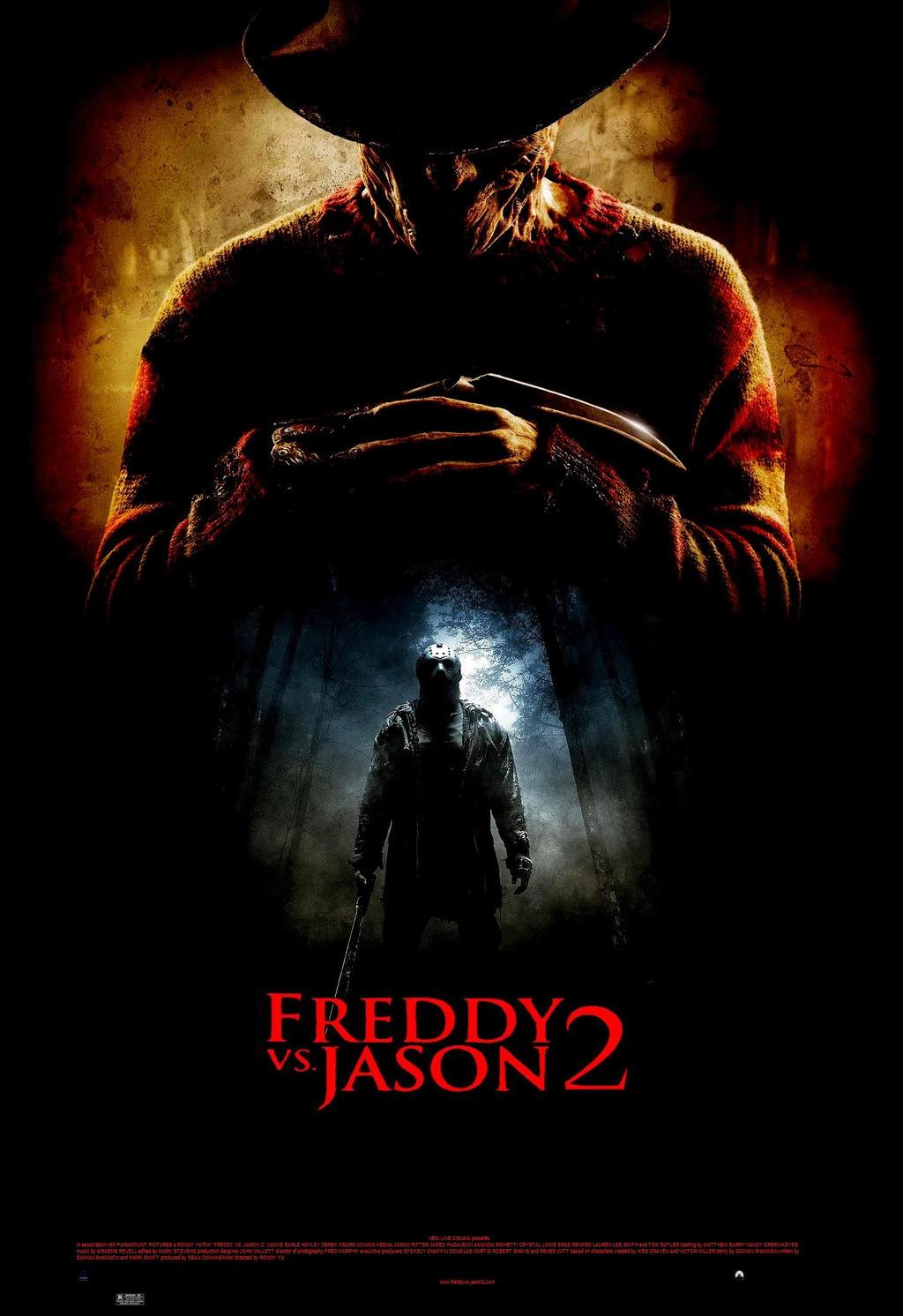 SteveIrwinFan96 Freddy Vs Jason 2 Poster By