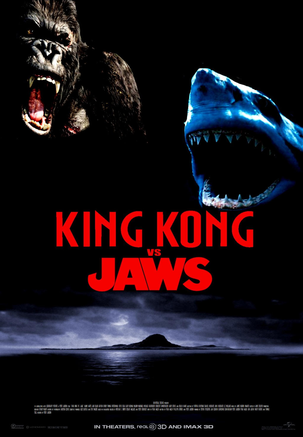 Image Gallery jaws vs king kong