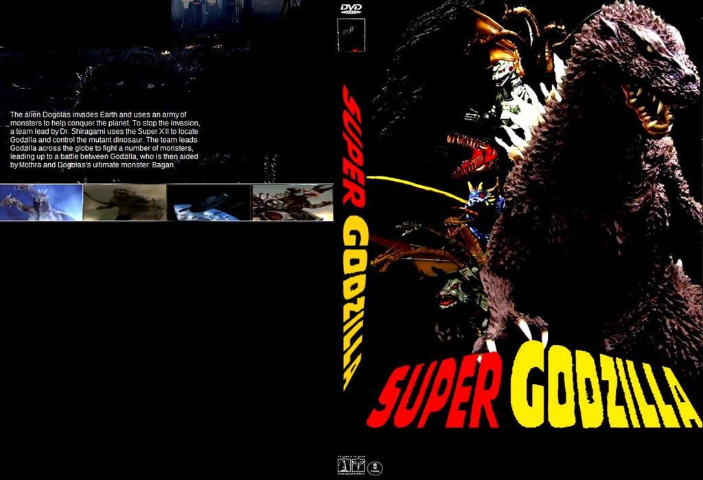 Super Godzilla movie DVD cover by SteveIrwinFan96 on ...